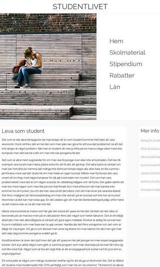 Mobile preview of studentgrossisten.se