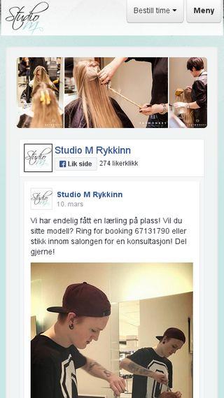 Mobile preview of studiomas.no