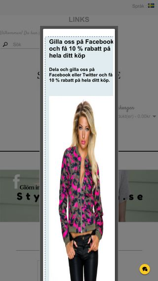 Mobile preview of styleproffsen.se