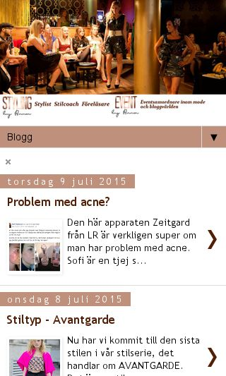 Mobile preview of stylinganna.se