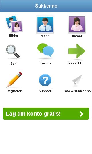 Mobile preview of sukker.no