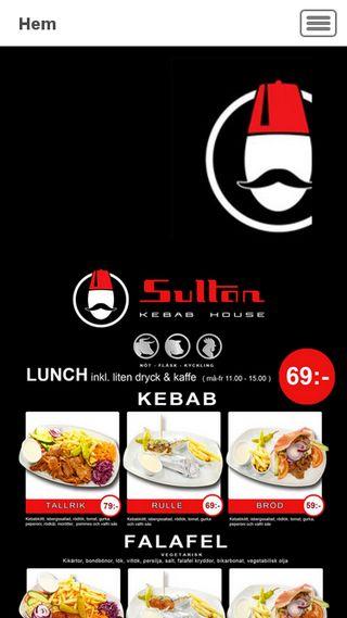 Mobile preview of sultankebab.se
