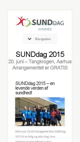 Mobile preview of sunddag.nu