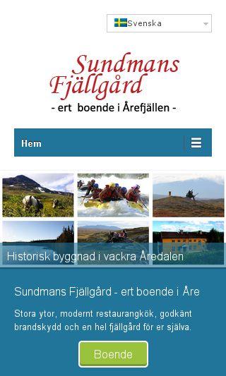 Mobile preview of sundmans.se