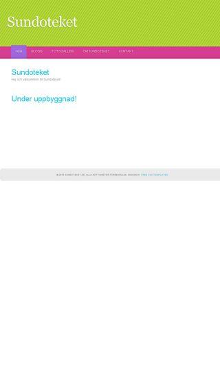 Mobile preview of sundoteket.se