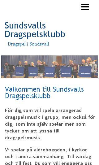 Mobile preview of sundsvallsdk.se