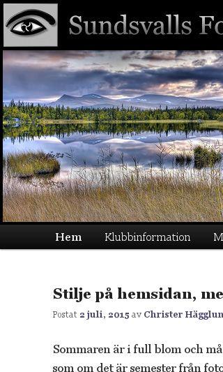 Mobile preview of sundsvallsfotoklubb.se