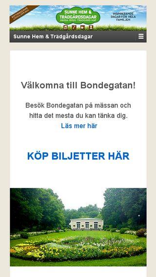 Mobile preview of sunnehemochtradgardsdagar.se