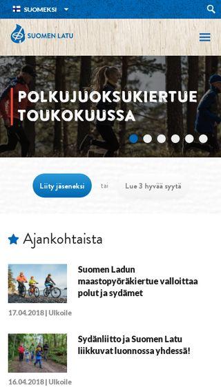Mobile preview of suomenlatu.fi