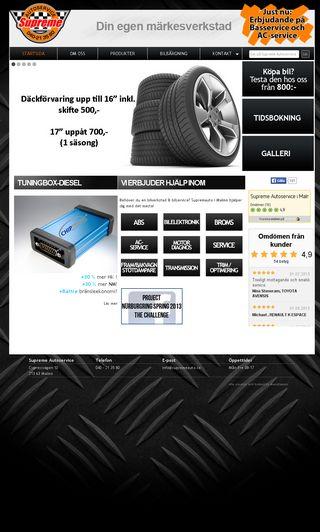 Mobile preview of supremeauto.se