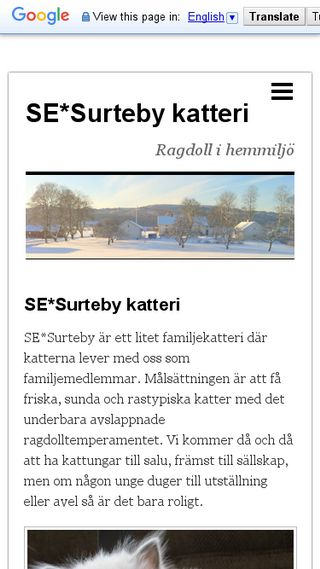 Mobile preview of surteby.n.nu