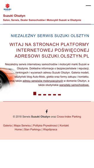Mobile preview of suzuki.olsztyn.pl