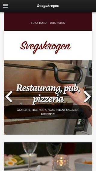 Mobile preview of svegskrogen.se
