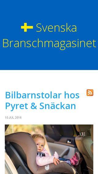 Mobile preview of svenska-branschmagasinet.se
