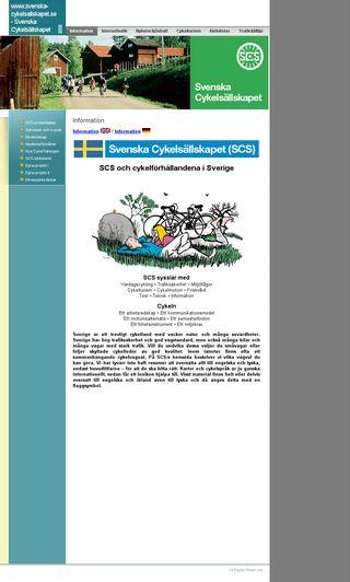 Mobile preview of svenska-cykelsallskapet.se