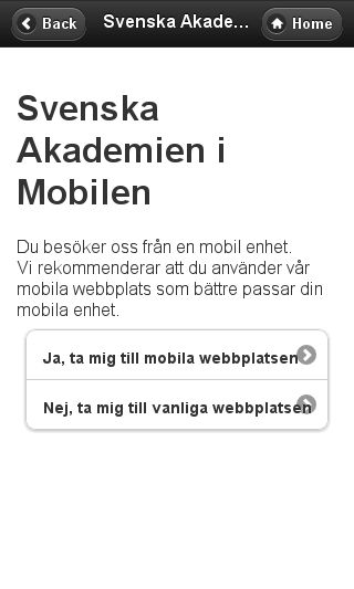 Mobile preview of slotttillsalu.se