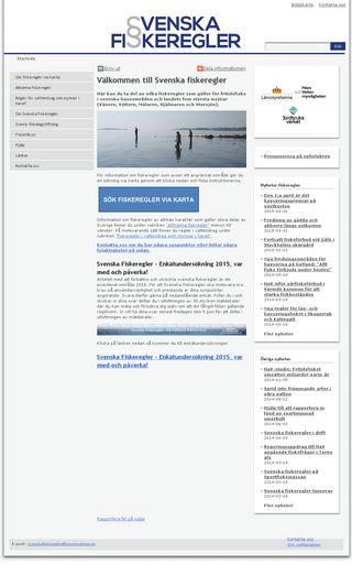 Mobile preview of svenskafiskeregler.se
