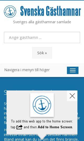 Mobile preview of webbkusten.com