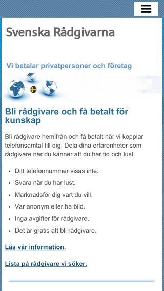 Mobile preview of svenskaradgivarna.se