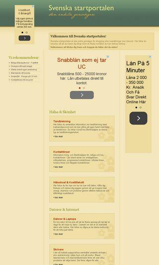 Mobile preview of svenskastartportalen.se
