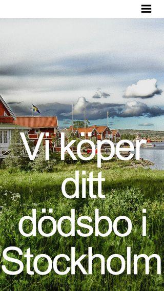 Mobile preview of svenskasterbhus.se