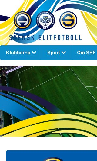 Mobile preview of svenskfotboll.se