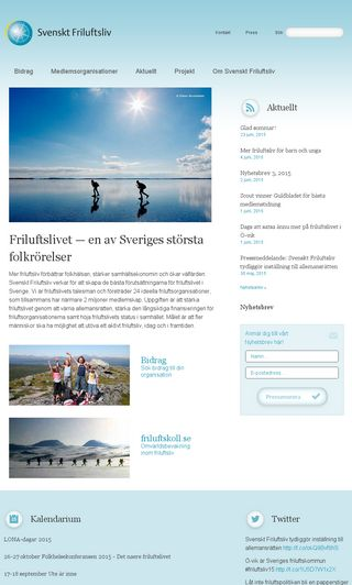 Mobile preview of svensktfriluftsliv.se