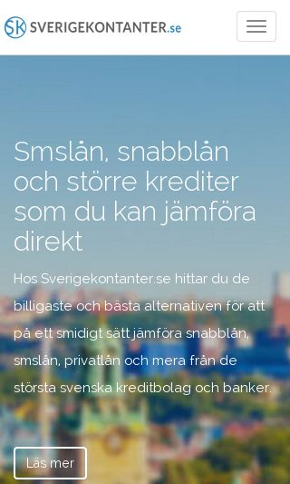 Mobile preview of sverigekontanter.se