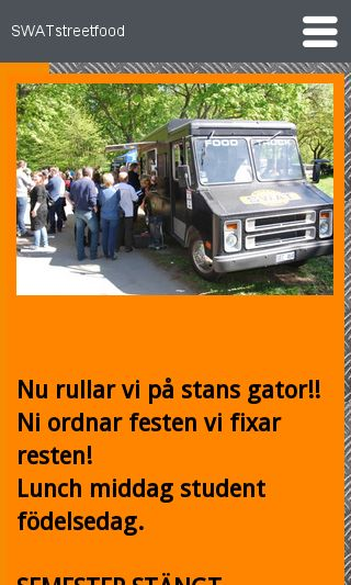 Mobile preview of swatstreetfood.se