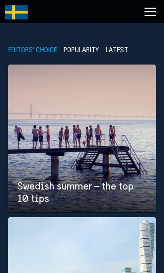 Mobile preview of sweden.se
