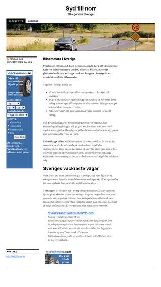 Mobile preview of sydtillnorr.se