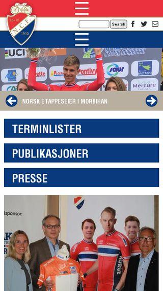 Mobile preview of ringerikesykkelklubb.no