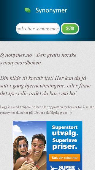 Mobile preview of digjobb.no