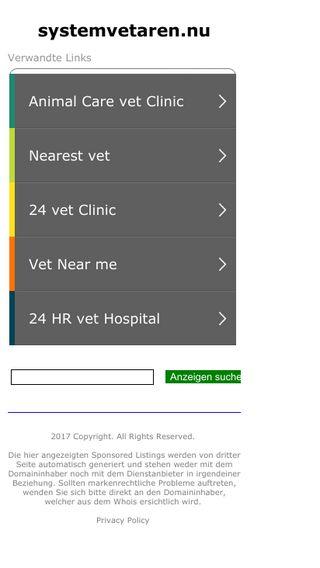 Mobile preview of systemvetaren.nu