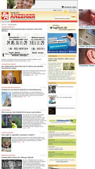 Mobile preview of tagblatt-anzeiger.de