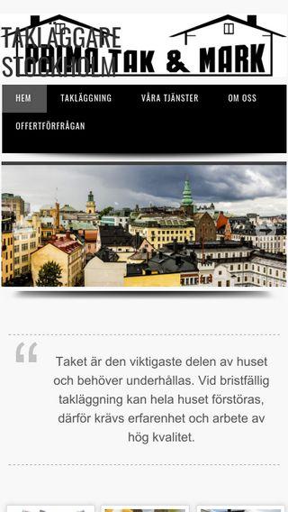 Mobile preview of taklaggarestockholm.nu