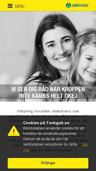 Mobile preview of tankgult.se