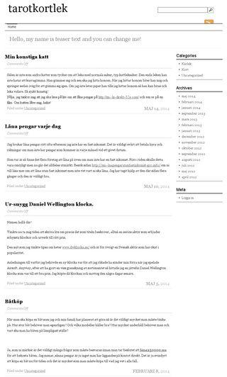 Mobile preview of tarotkortlek.se