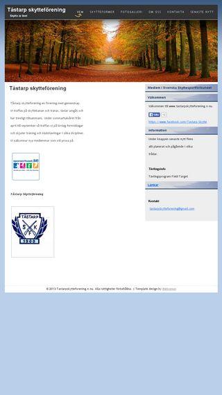 Mobile preview of tastarpskytteforening.n.nu