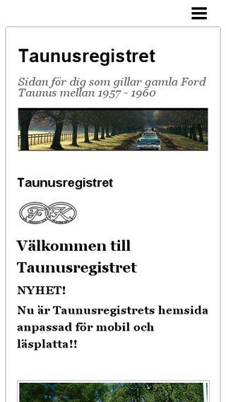 Mobile preview of taunus17m.n.nu