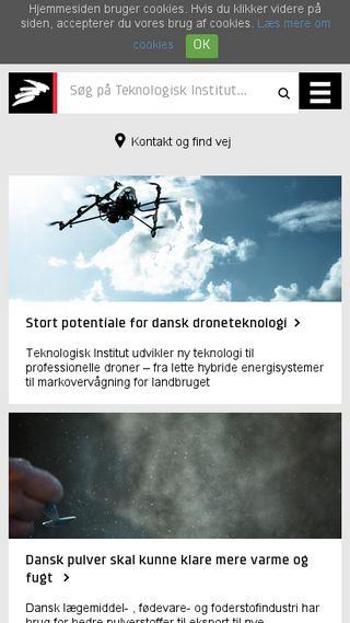 Mobile preview of teknologisk.dk