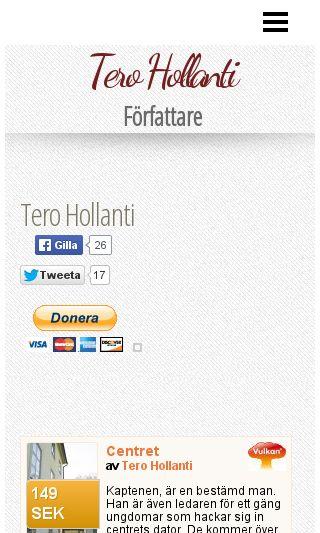 Mobile preview of terohollanti.se