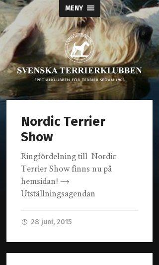 Mobile preview of terrierklubben.se