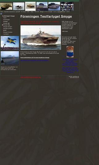 Mobile preview of testfartygetsmyge.se