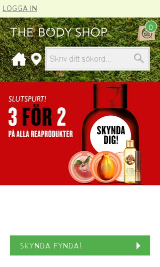 Mobile preview of thebodyshop.se