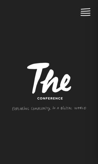 Mobile preview of theconference.se