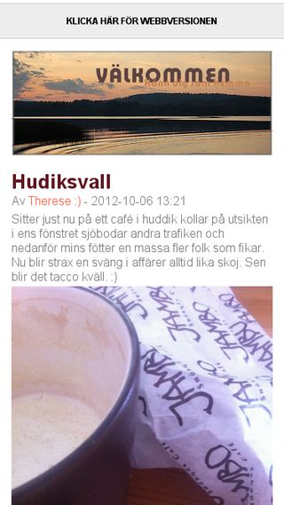 Mobile preview of therese.bloggagratis.se