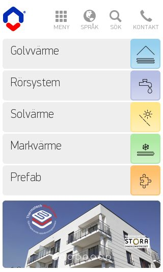 Mobile preview of thermotech.se