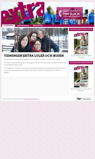 Mobile preview of tidningenextra.se