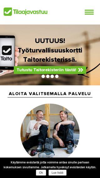 Mobile preview of tilaajavastuu.fi